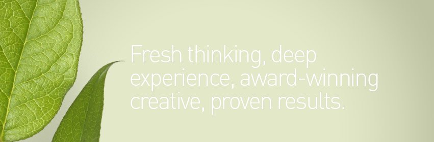 For marketing experts, call Creative Company.