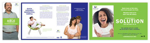 Based on a financial marketing strategy, a new financial brochure was created for this brand launch.