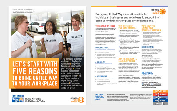 united way employer brochure