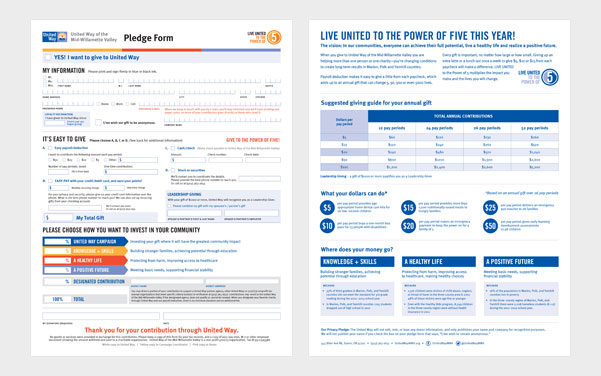 united way pledge form r2