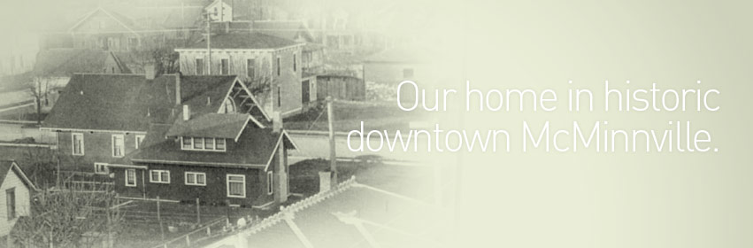 Creative Company is a branding agency in historic downtown McMinnville, Oregon.