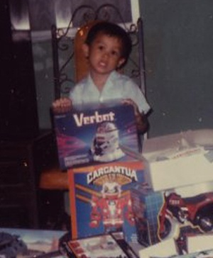 Marlon baby playing