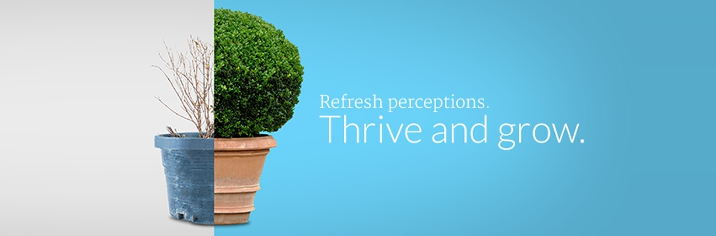 A brand refresh, rebrand, or redesign to increase response.