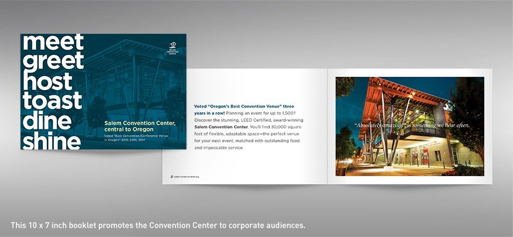Salem Convention Center facility brochure cover