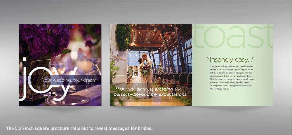 Salem Convention Center wedding brochure cover