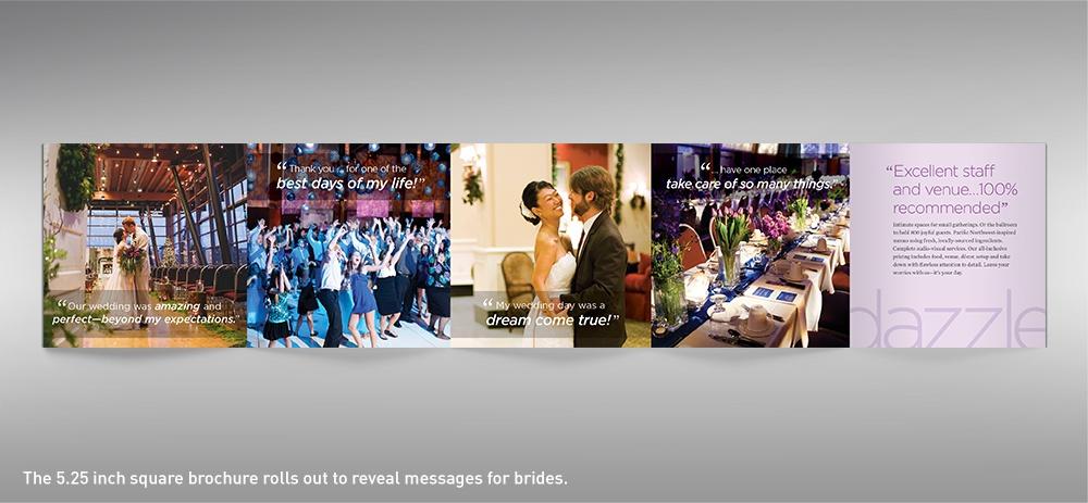 Salem Convention Center wedding brochure full spread